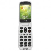 "Doro 6050 2.8"" 111g Champagne, White Entry-level phone"