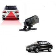 Auto Addict Car Styling Anti Collision Safety Line Led Laser Fog Lamp Brake Lamp Running Tail Light-12V Cars For Chevrolet Sail