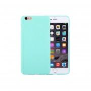 Para El Iphone 6 Y 6s Color Solido Tpu Protector Caso Sin Agujero Redondo (verde)