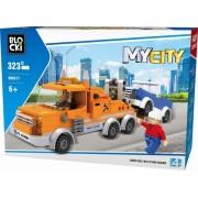 Joc constructie, My City, Asistenta rutiera, 323 piese Blocki