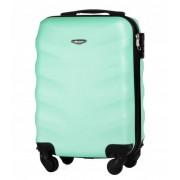 Mała walizka kabinowa podręczna XS 27L STL 402 ABS - JASNY ZIELONY