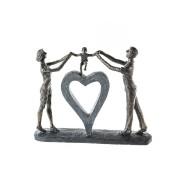 Figurina PERFECT LUCK, rasina, 39x8x31 cm