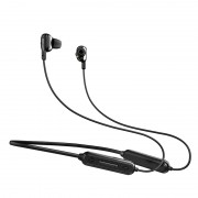 PICUN H80 Wireless Bluetooth 5.0 Headphone Stereo Bass Sport Running Magnetic Neckband Ear Earphone - Black