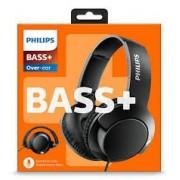 HEADPHONES, Philips SHL3175BK, Microphone, BASS+, Black