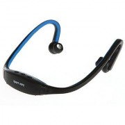 Sports MP3 Player Headset Neckband Style Stylish n sporty Blue Color