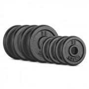 IPB 15 kg Conjunto de Placas de Peso 4 x 1,25 kg + 4 x 2,50 kg 30 mm