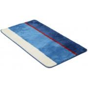 Stripes blå - badrumsmatta