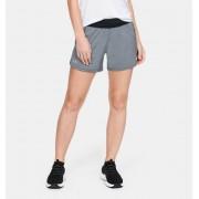 """Under Armour Women's UA Launch SW """"Go Long"""" Shorts Black XL"""