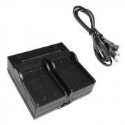 W126 Bateria de la camara digital Cargador dual para FujiFilm NP-W126 X-PRO1
