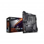 T. Madre Gigabyte Z490 Aorus Pro AX, Chipset Intel Z490, Soporta