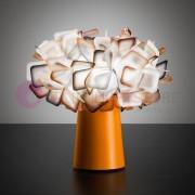 Slamp Clizia Color Lampada Da Tavolo Abat-Jour Colorata Design Moderno