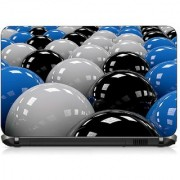 VI Collections Three Color Balls pvc Laptop Decal 15.6