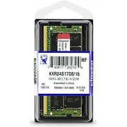 Memorija za prijenosno računalo Kingston 16 GB SO-DIMM DDR4 2400 MHz Value RAM, KVR24S17D8/16