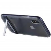 Mercury Goospery 5,8 Pulgadas IPhone X Desmontable Galvanotecnia Bumper Frame + TPU Protector Antichoque Volver Funda Con El Titular (azul Oscuro)