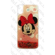 Apple iPhone X / iPhone XS / iPhone 10 (калъф ТПУ) 'Liquid - Minnie Mouse'