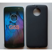 """TPU Pudding maska za Motorola Moto G5S XT1793 (5.2"""") 2017, crna"""