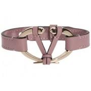 Valentino Garavani Leather Bracelet Pink