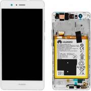 Huawei - Vetro LCD completo per Huawei P9 Lite - Bianco (Originale)