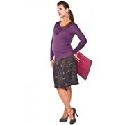 Amada spódnica (fioletowo-czarny)