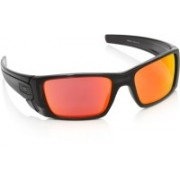 Oakley Round Sunglass(Red)