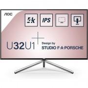 """AOC U32U1 Studio F.A. Porche 31.5"""" LED IPS UltraHD 4K HDR"""
