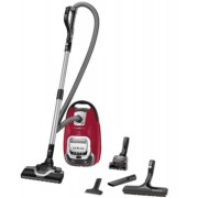 Прахосмукачка, Rowenta SILENCE FORCE ALLERGY+, Mini turbobrush, parquet brush, XL crevice tool, Red (RO7473EA)