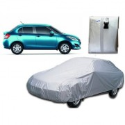 Maruti Suzuki Swift Dzire Car Body Cover Silver Color.