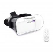 Lentes De Realidad Virtual Noga VR BOX 3D 360° Con Control Bluetooth