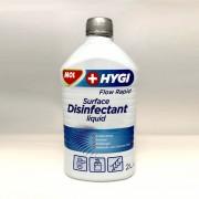 MOL Hygi Flow Rapid alkoholos fertőtlenítő felülettisztító folyadék (2 liter)