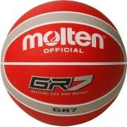 Molten basketbal GR-7 (rood / zilver)