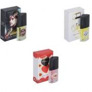 Skyedventures Set of 3 Kiier-Silent Love-Younge Heart Red Perfume