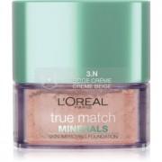 L'Oréal Paris True Match Minerals Грим на прах цвят 3.N Creme Beige 10 гр.