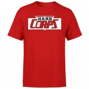 Valiant Comics Classic Hard Corps Logo T-Shirt - M - Red