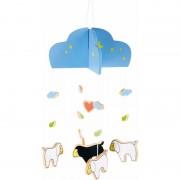 Small Foot Hangdecoratie mobiel schaap/lam 25 cm
