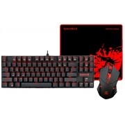 Kit Tastatura, Mouse Gaming si Mousepad Redragon Kumara + Centrophorus + Archelon M