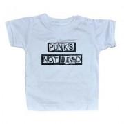 tricou stil metal copii - Punk's Not Dead - ROCK DADDY - 16007-008 - MBM