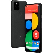 Google - Pixel 5 5G 128GB (Unlocked) - Just Black