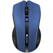 Мишка Canyon CNE-CMSW05BL, оптична (1600 dpi), безжична, USB, синя