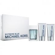 Michael Kors Extreme Blue lote de regalo I. eau de toilette 120 ml + gel de ducha 75 ml + bálsamo after shave 75 ml
