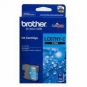 Brother Lc-67c Cyan Ink Cart High Yield Up To 750 Pages