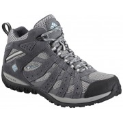 Columbia Mittelhoher Wasserdichter Redmond - Light Grey - Sky Blue - Wanderstiefel 9.5