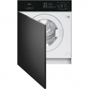 SMEG LBA10N-2 Lavatrice da Incasso Frontalino Nero Classe A++ 7Kg