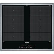 Siemens EX645FXC1E iQ700 Elektrische kookplaat, keramiek, 58,3 cm, flexibele kookzones, 2 verschillende inductiekookzones, zwart