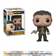 Max Rockatansky: Funko Pop Movies X Mad Max: Fury Road Vinyl Figure + 1 Classic Movie Trading Card Bundle [#509]