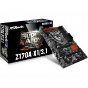 ASRock Z170A-X1/3.1 Intel Z170 LGA 1151 (Socket H4) ATX motherboard