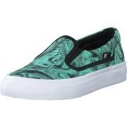 DC Shoes Dc Kids Trase Slip-On Shoe Black/Blue, Skor, Lågskor, Slip on, Blå, Barn, 29