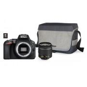 Nikon D5600 + AF-P 18-55VR + karta 16GB + torba