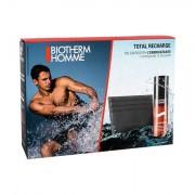 Biotherm Homme Total Recharge Non-stop Moisturizer confezione regalo crema viso 50 ml + portatessere