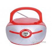 Radio CD Trevi CMP 552 Bluetooth, rosu