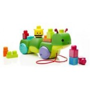 Jucarie Mega Bloks First Builders Move-N-Groove Caterpillar Toy